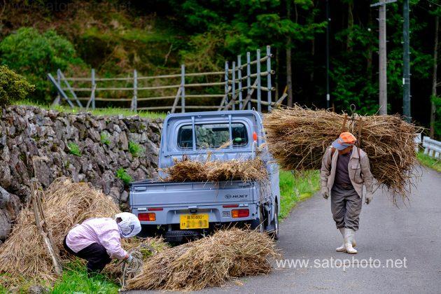 軽トラックの風景写真